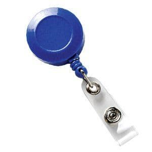 Compact Retractable Badge Reel, 100 Pack